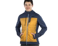 Image 3 for Pearl Izumi Versa Quilted Hoodie (Navy/Berm Brown) (M)