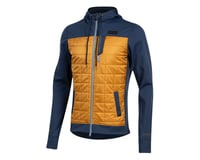 Image 1 for Pearl Izumi Versa Quilted Hoodie (Navy/Berm Brown) (2XL)