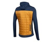 Image 2 for Pearl Izumi Versa Quilted Hoodie (Navy/Berm Brown) (2XL)