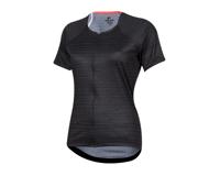 Image 1 for Pearl Izumi Women's Canyon Jersey (Black/Phantom Vert) (XL)