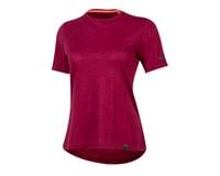 Pearl Izumi Women's BLVD Merino T Shirt (Beet Red)