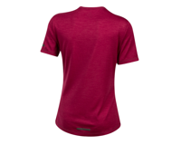 Image 2 for Pearl Izumi Women's BLVD Merino T Shirt (Beet Red) (XL)