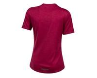 Image 2 for Pearl Izumi Women's BLVD Merino T Shirt (Beet Red) (XS)