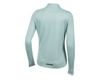 Image 2 for Pearl Izumi Women's BLVD Merino 1/4 Zip (Aquifer) (XL)