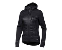 Image 1 for Pearl Izumi Women's Versa Quilted Hoodie (Black) (M)