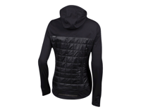 Image 2 for Pearl Izumi Women's Versa Quilted Hoodie (Black) (S)