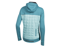 Image 2 for Pearl Izumi Women's Versa Quilted Hoodie (Hydro/Aquifer) (S)