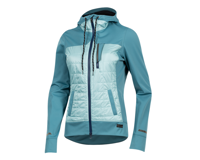 Image 1 for Pearl Izumi Women's Versa Quilted Hoodie (Hydro/Aquifer) (XS)