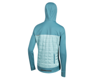 Image 3 for Pearl Izumi Women's Versa Quilted Hoodie (Hydro/Aquifer) (XS)