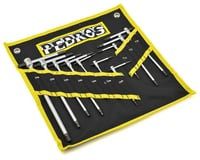 Pedro's T-Handle Hex Wrench Master Set w/ Hangable Pouch