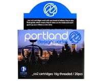 Portland Design Works CO2 Refill Cartridges (16g) (20-Pack)