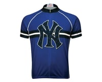 Image 3 for Primal Wear New York Yankees Modern Short Sleeve Jersey (Blue)