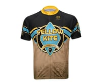 Image 3 for Primal Wear Yellow Kite Summer Short Sleeve Jersey - Closeout (Brown)
