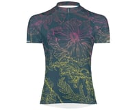 Primal Wear Women's Short Sleeve Jersey (Floral Sketch)