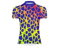 Primal Wear Women's Short Sleeve Jersey (Giraffe Print)