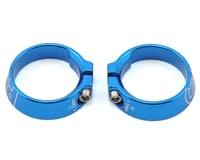Image 1 for Pro Alloy Lock Ring Set (Blue Anodized)