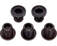 Problem Solvers 8mm Inner Chainring Bolts Black Alloy