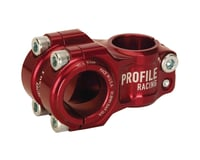 Profile Racing Profile Nova 31.8mm Stem (Red)