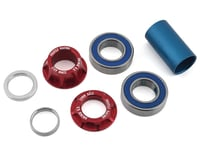 Profile Racing Column Mid Bottom Bracket Kit (Red)