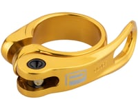 Promax QR-1 Quick Release Seatpost Clamp (Gold)
