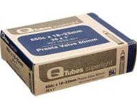 Q-Tubes Superlight 650c x 18-23mm 80mm Presta Valve Tube