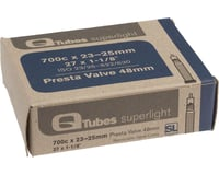 Q-Tubes Superlight 700c x 23-25mm 48mm Presta Valve Tube