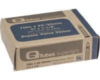 Q-Tubes Superlight 700c x 23-25mm 32mm Presta Valve Tube
