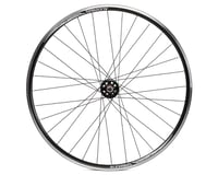 Image 2 for Quality Wheels Track 700c Front Wheel (Black)