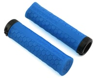 Image 1 for Race Face Getta Grips (Lock-On) (Blue/Black) (33mm)