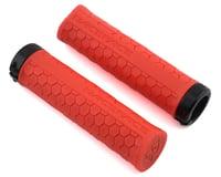 Race Face Getta Grips (Lock-On) (Red/Black) (33mm)