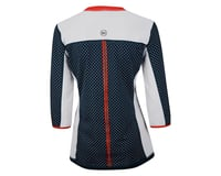 Image 2 for Race Face Khyber Women's Jersey (Navy/Flame) (MD)