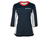 Image 3 for Race Face Khyber Women's Jersey (Navy/Flame) (MD)