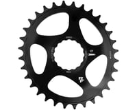 Image 2 for Race Face Narrow Wide Oval Direct Mount Cinch Chainring (Black) (28T)