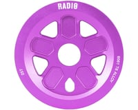 Radio 47 Leon Hoppe Signature Guard Sprocket 25T 24mm/22mm/19mm Sandblasted Purp