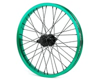 """Rant Party On V2 18"""" Cassette Rear Wheel (Real Teal)"""