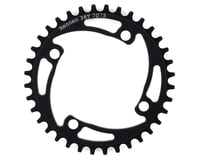 Image 1 for RENNEN 4-Bolt Chainring Non-Threaded (Black) (36T)