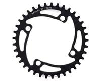 Image 1 for RENNEN 4-Bolt Chainring Non-Threaded (Black) (37T)
