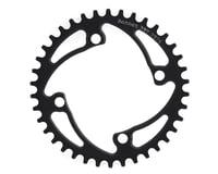 Image 1 for RENNEN 4-Bolt Chainring Non-Threaded (Black) (38T)