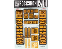 RockShox Decal Kit (35mm) (Dual Crown) (Orange) | relatedproducts