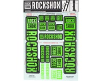 RockShox Decal Kit (35mm) (Dual Crown) (Green)