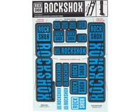 RockShox Decal Kit (35mm) (Dual Crown) (Blue) | relatedproducts