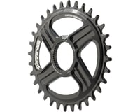 Rotor Q-Ring Direct Mount Oval Chainring for Hawk/Raptor Cranksets (Black)