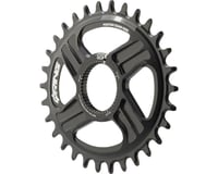 Rotor Q-Ring Direct Mount Oval Chainring for Hawk/Raptor Cranksets (Black) (30T) | relatedproducts
