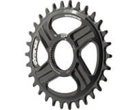 Rotor Q-Ring Direct Mount Oval Chainring for Hawk/Raptor Cranksets (Black) (30T)