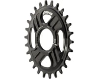 Rotor Q-Ring Direct Mount Oval Chainring for Rotor Mountain Cranksets (Black)