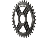 Rotor Round noQ-Ring Direct Mount Chainring for Hawk/Raptor Cranksets