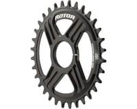 Rotor Round noQ-Ring Direct Mount Chainring for Hawk/Raptor Cranksets (32T)