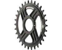Rotor Round noQ-Ring Direct Mount Chainring for Hawk/Raptor Cranksets (30T)