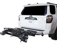 Saris SuperClamp Cargo Bike Rack (Black) (2-Bike) (Universal Hitch) | relatedproducts