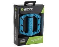 Image 3 for Sdg Slater Nylon Flat Pedals (Blue)